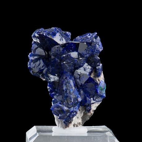 Azurite, 4.5 x 3.5 x 2.3 cm.