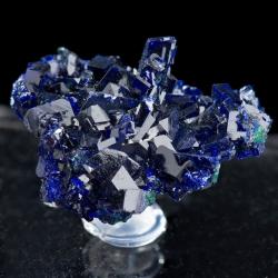 Azurite, 3.9 x 3.5 x 1.5 cm.