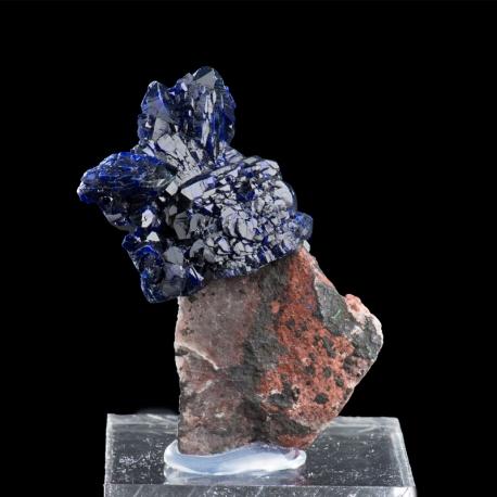Azurite, 4.8 x 3.6 x 2.5 cm.