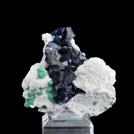 Azurite, 7 x 6.5 x 4 cm.