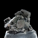 Enargite, Julcani Mine, Peru - miniature