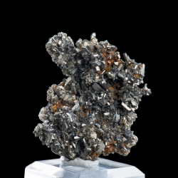 Arsenopyrite, Julcani Mine, Peru - miniature