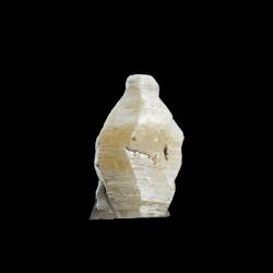 Weloganite, 1.4 x 0.9 x 0.7  cm.