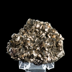 Pyrite,  7 x 6 x 2.5 cm.