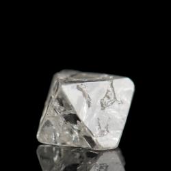 Diamond,  0.9 x 0.8 x 0.7 cm.