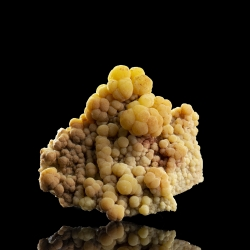 Mimetite, San Pedro Mine, Mexico - miniature