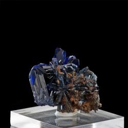 Azurite,  3 x 2.8 x 2 cm.