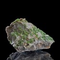 Pyromorphite, Les Farges Mine, France - miniature