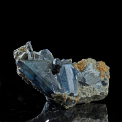 Vivianite, Morococala Mine, Bolivia - miniature