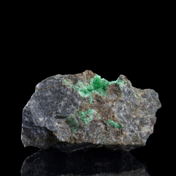 Annabergite, Lavrion District Mines, Greece - miniature