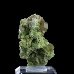 Grossular, Jeffrey Mine, Canada - miniature