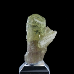 Vesuvianite, Jeffrey Mine, Canada - miniature