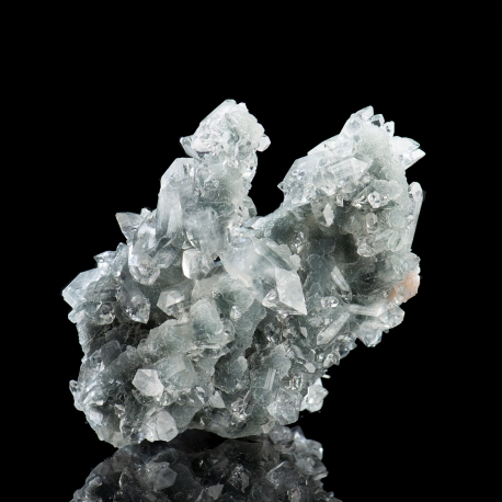 Fluorapophyllite-(K), Jalgaon District, India - large cabinet