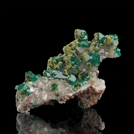 Dioptase, Tsumeb Mine, Namibia - miniature