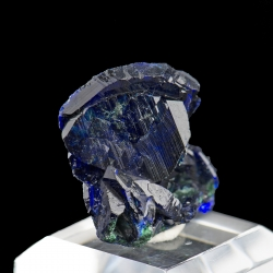 Azurite, Milpillas Mine, Mexico - thumbnail
