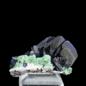 Volborthite, Milpillas Mine, Mexico - miniature