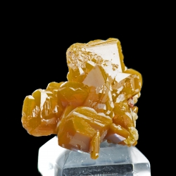 Wulfenite, La Morrita Mine, Mexico - thumbnail