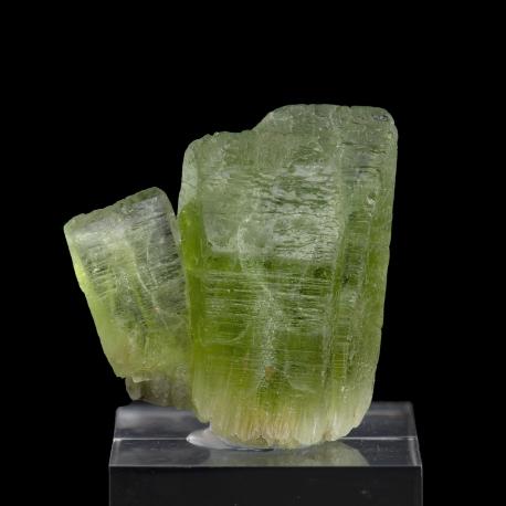 Forsterite, peridot variety, Sapat Gali, Pakistan - miniature