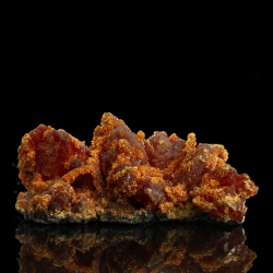 Orpiment, Quiruvilca Mine, Peru - small cabinet
