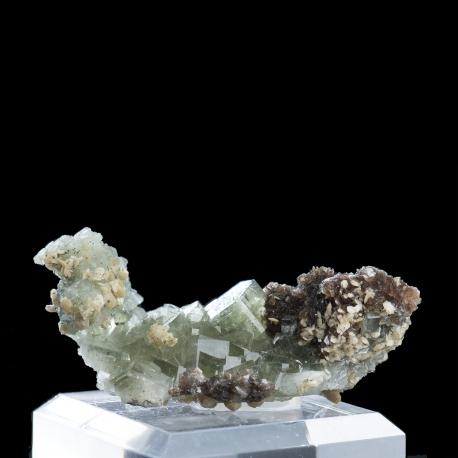 Fluorapatite, Panasqueira Mine, Portugal - small cabinet