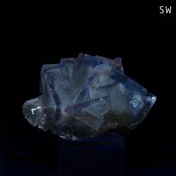 Fluorite, Cave-In-Rock, United States - miniature