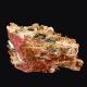 Rhodochrosite, Poudrette Quarry, Canada - miniature