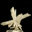Natrolite, Poudrette Quarry, Canada - miniature