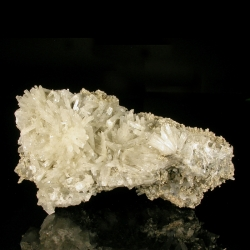 Natrolite, Poudrette Quarry, Canada - large cabinet