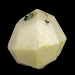 Analcime, Poudrette Quarry, Canada - miniature