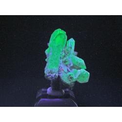 Quartz, Fluorite, Poudrette Quarry, Canada - thumbnail