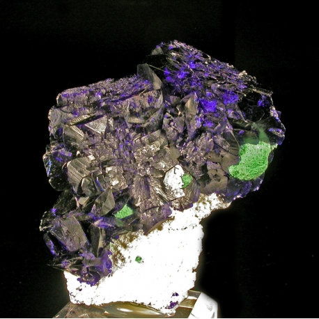 Azurite, Milpillas, Mexico - miniature