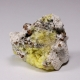 Calcite, Gonnardite epimorph of Analcime (?)