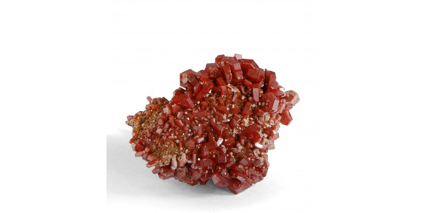 Vanadinite: a very colourful mineral species